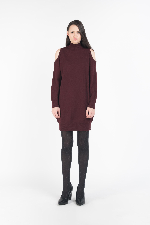 Dress G08 Wine 1