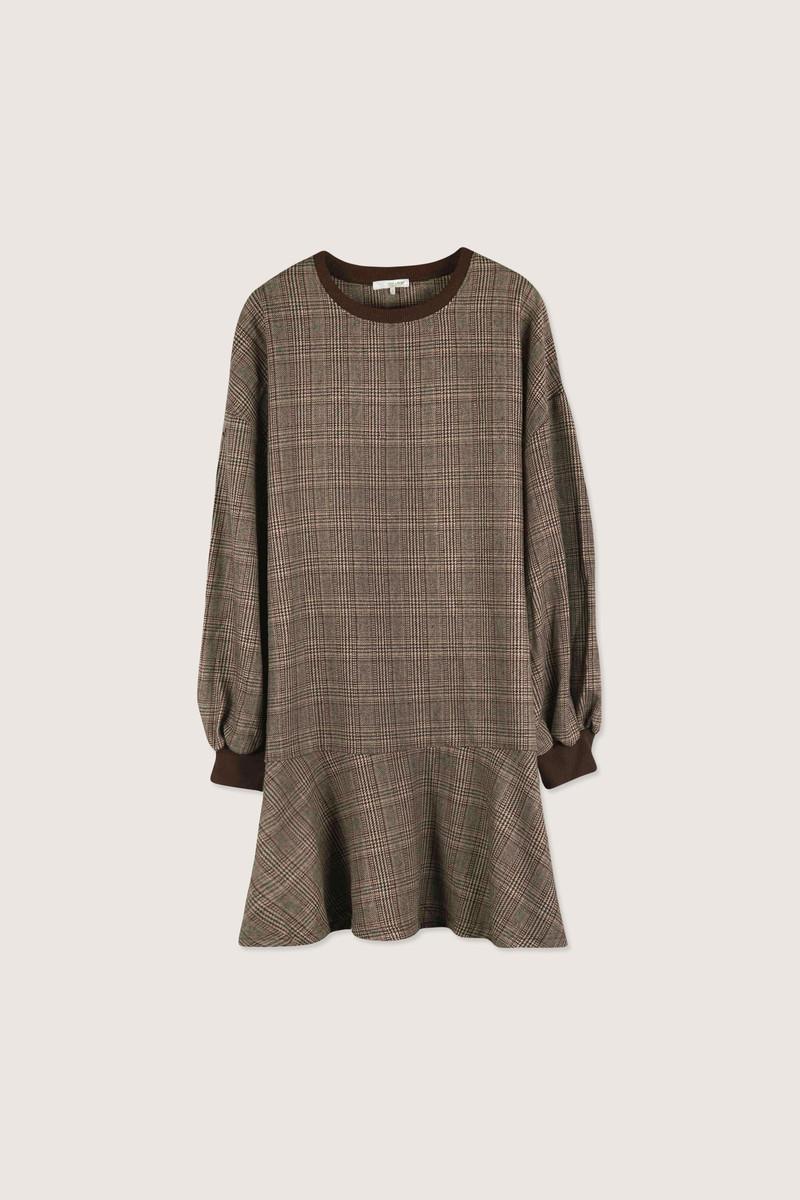 Dress H298 Brown 7