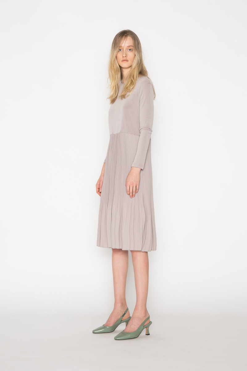 Dress H378 Beige 2