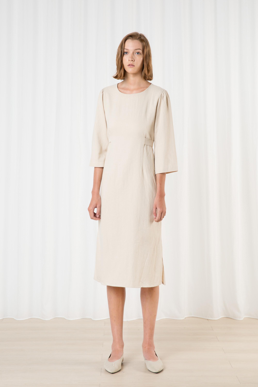 Dress H393 Beige 1