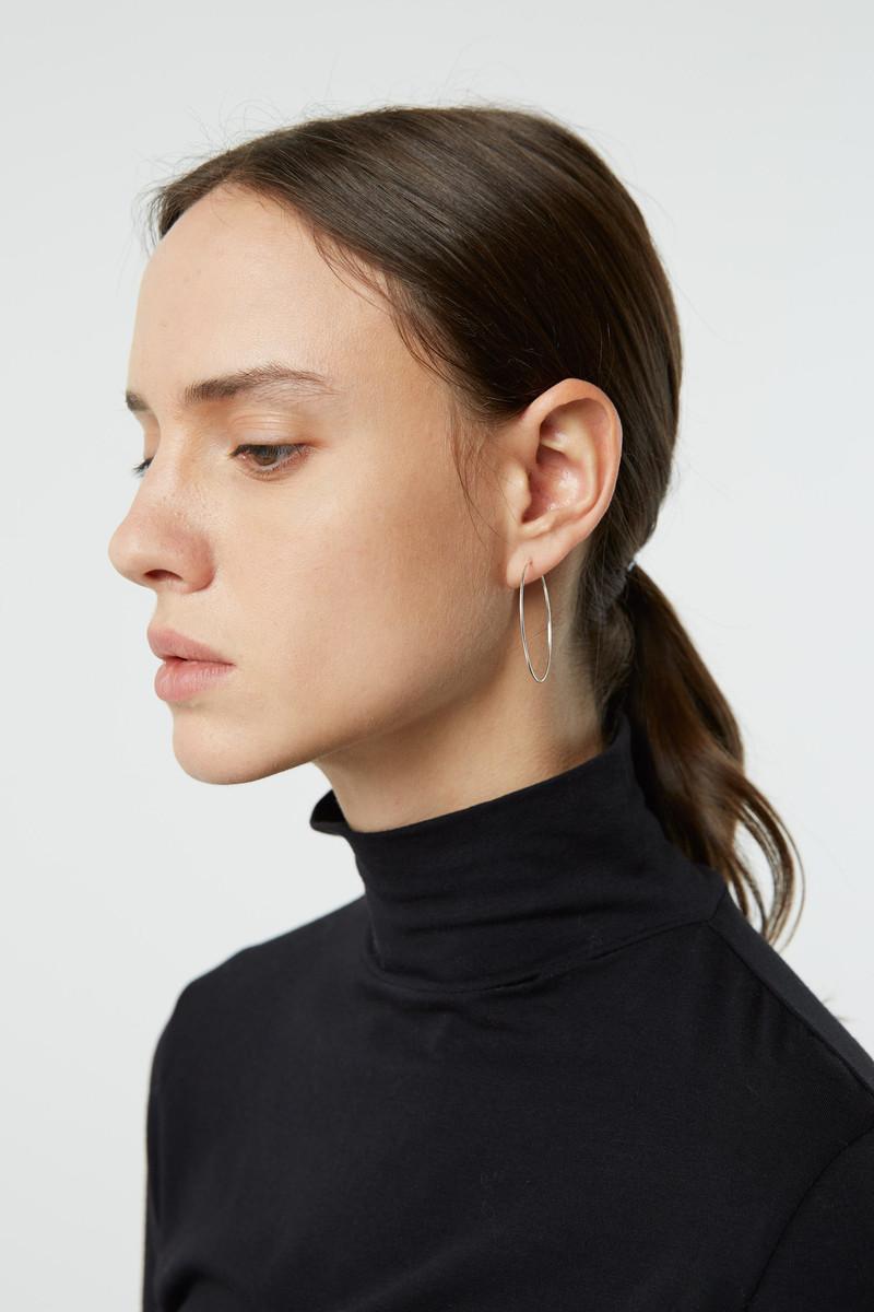 Earring 3026 Silver 4