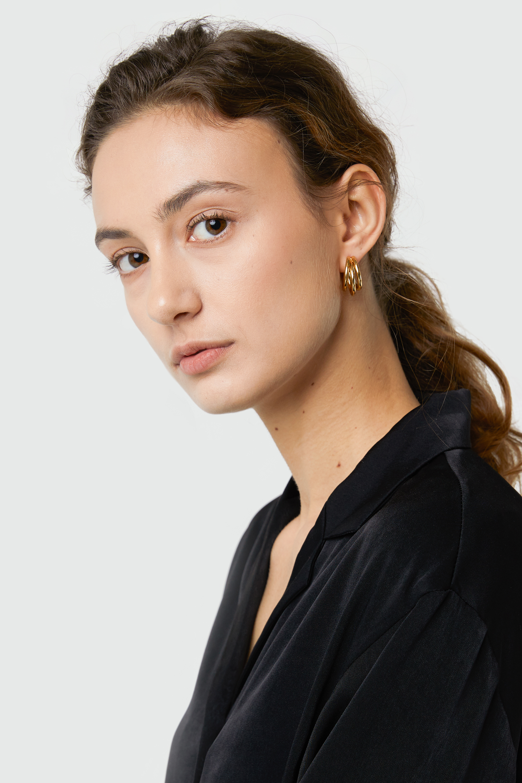 Earring 3329 Gold 1