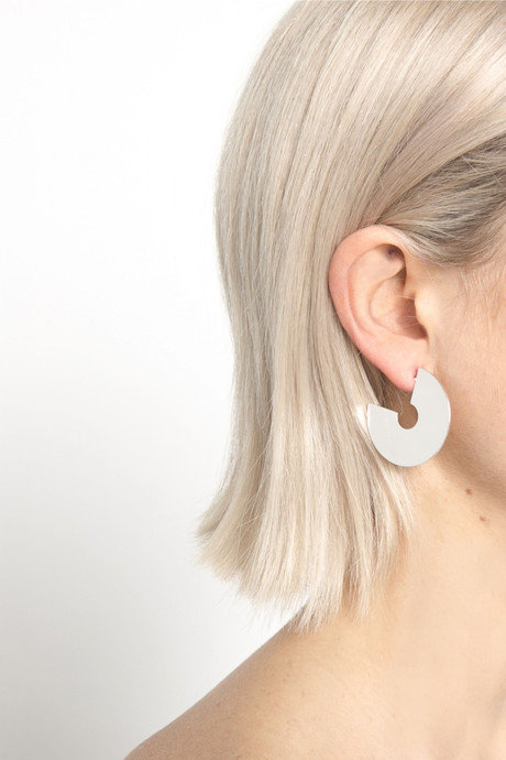 Earring 91045 Silver 3