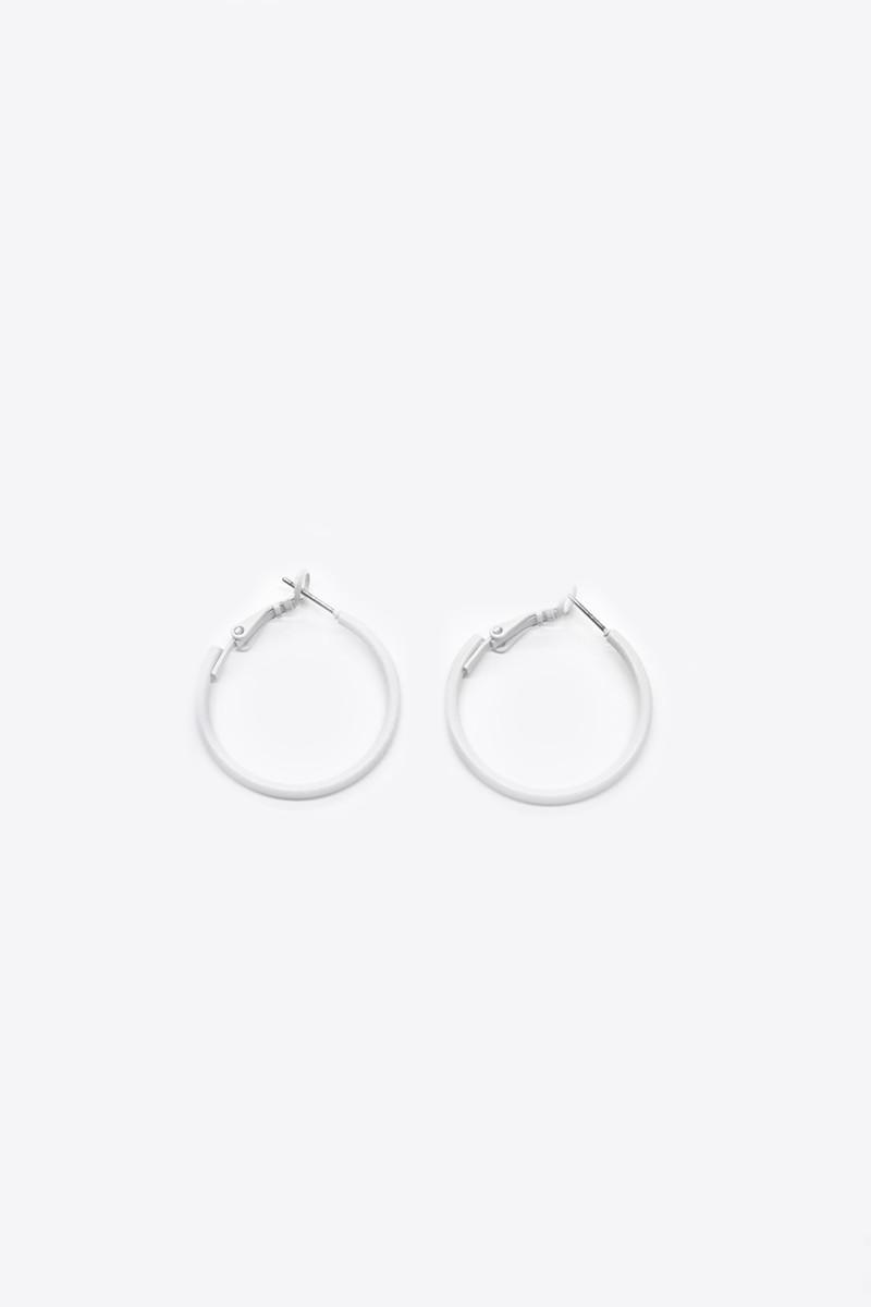 Earring H054 Cream 1