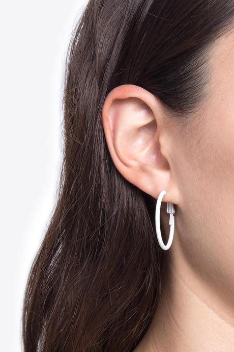 Earring H054 Cream 5