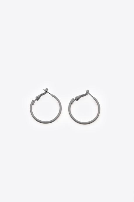 Earring H054 Gray 3