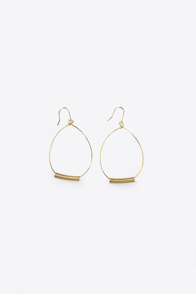 Earring H058 Gold 2