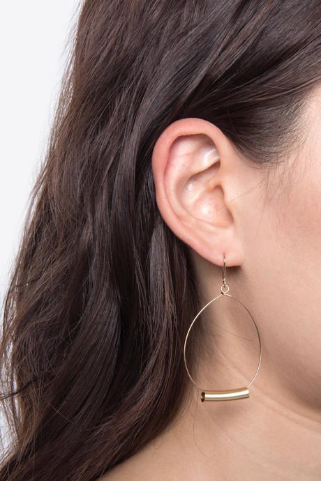 Earring H058 Gold 3