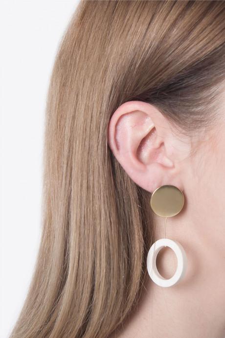 Earring H081 Gold 2