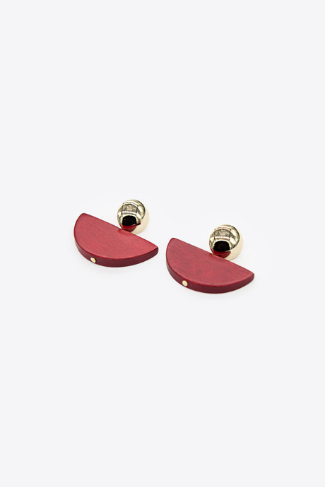 Earring H085 Red 1