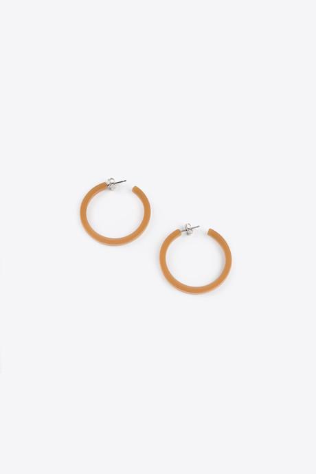 Earring H119 Beige 1