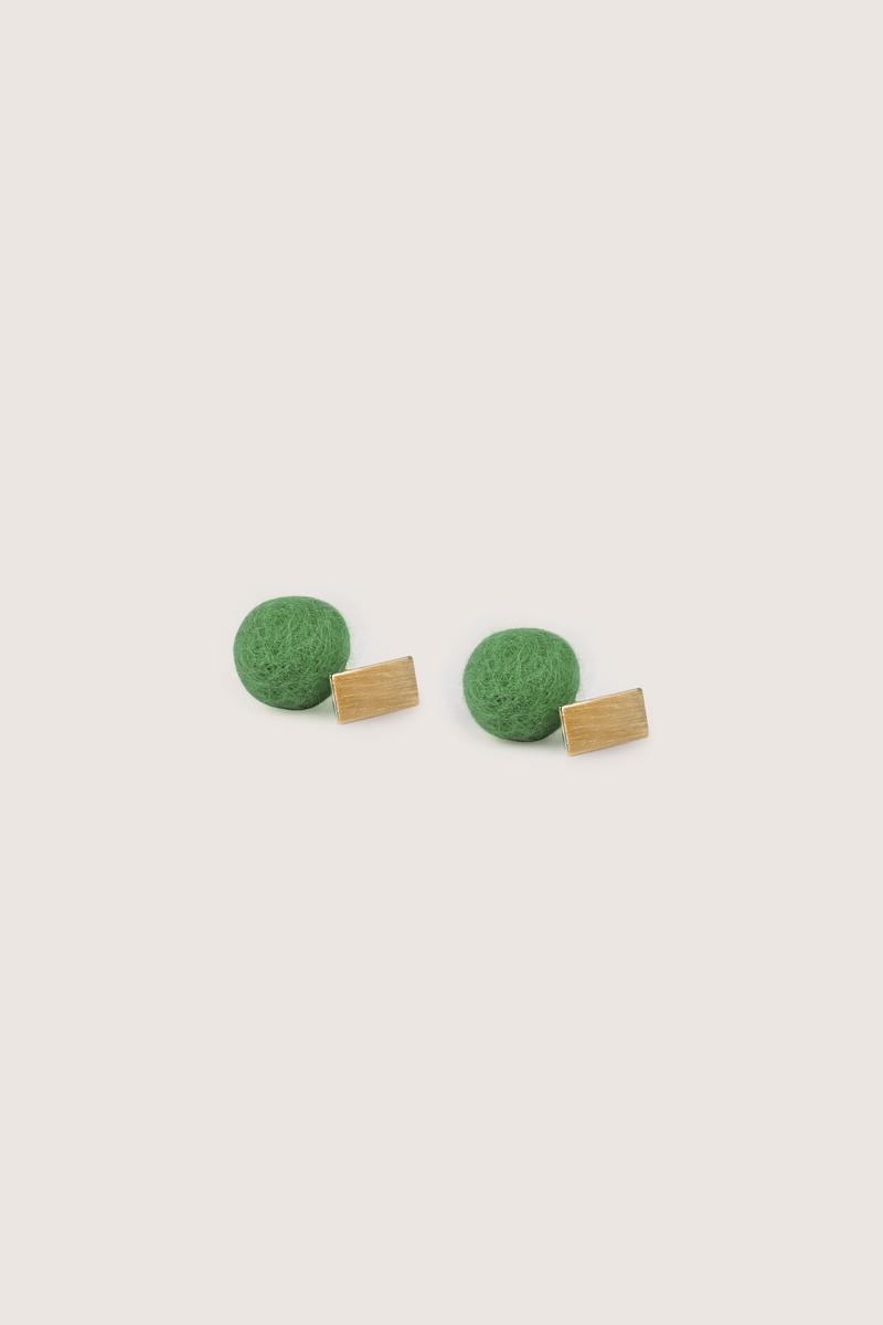 Earring H210 Green 4