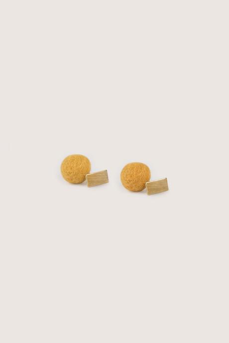 Earring H210 Mustard 1
