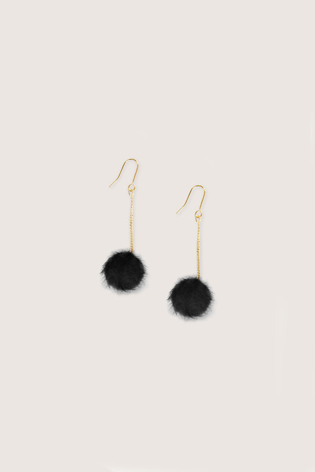 Earring H226 Black 2