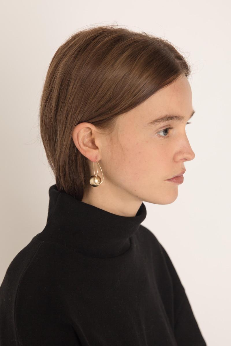 Earring H249 Gold 2