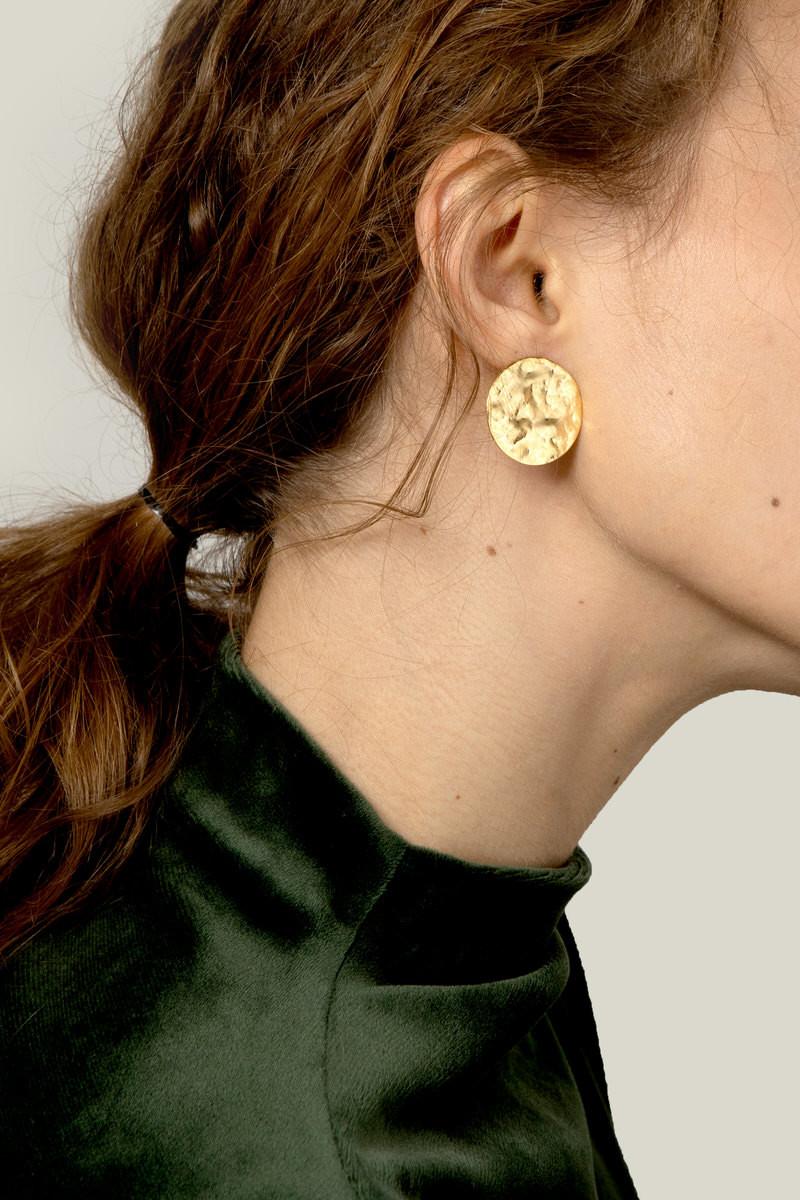 Earring J026 Gold 2