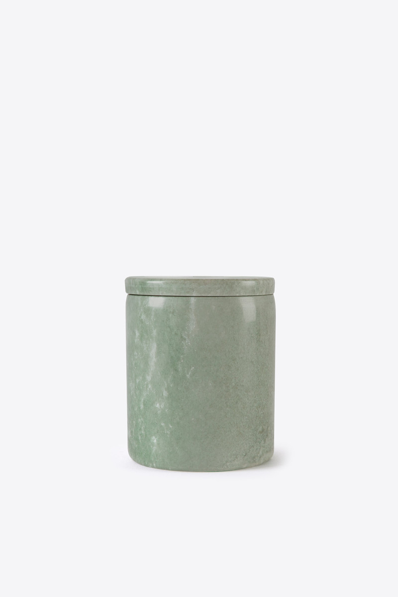 Green Marbled Canister 3128 Green 2