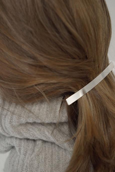 Hair Clip 94022 Silver 5