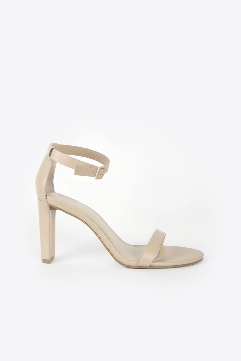 587a0bee12c5 Heeled Sandal 1277 Beige 1 ...