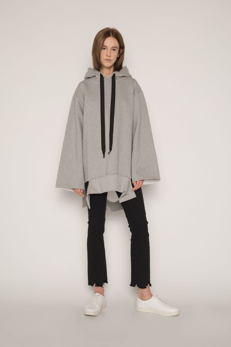 Hooded Tunic G013 Gray 2