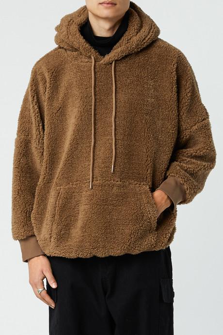 Hoodie 3307 Brown 1