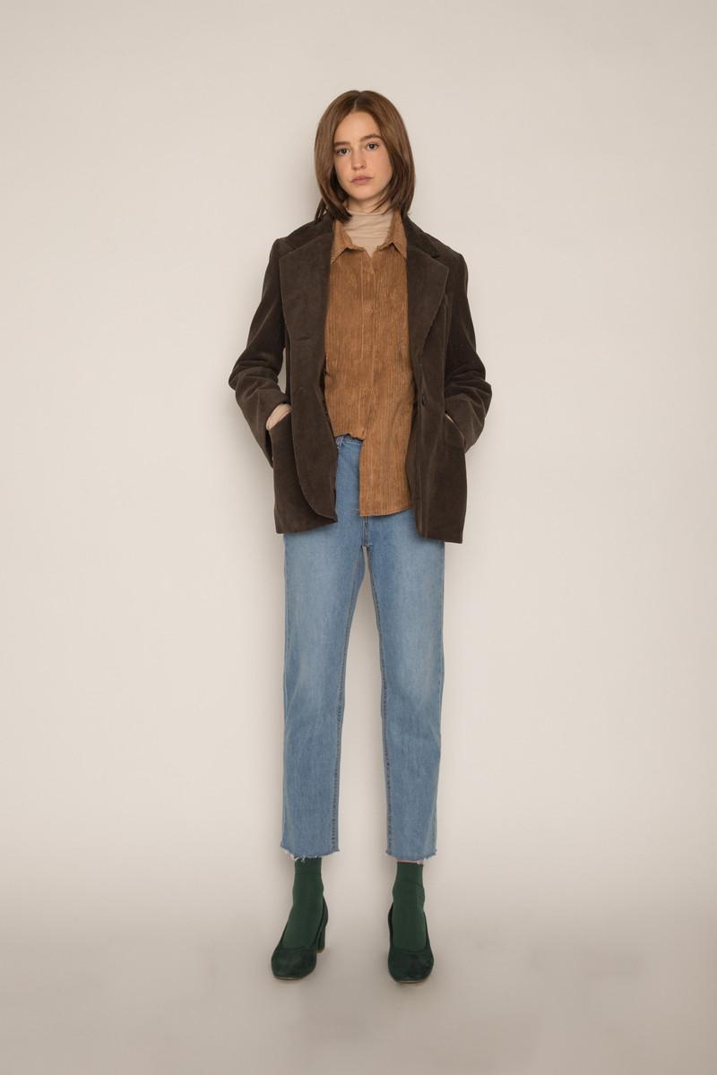 Jacket H164 Brown 2