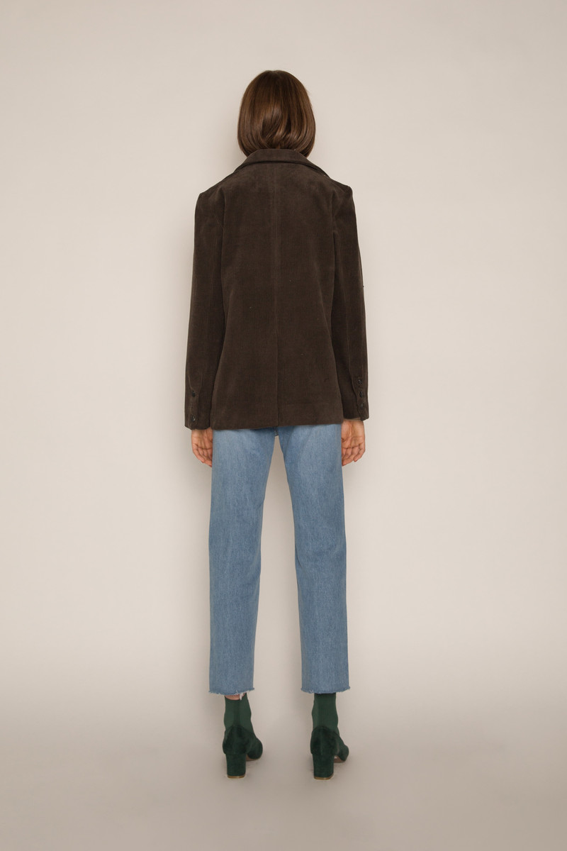 Jacket H164 Brown 4