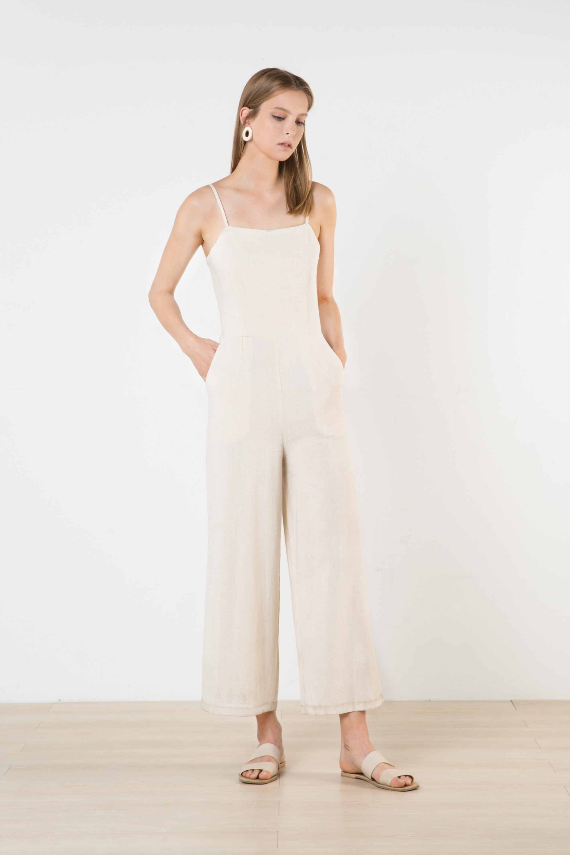 Jumpsuit 2376 Oatmeal 1