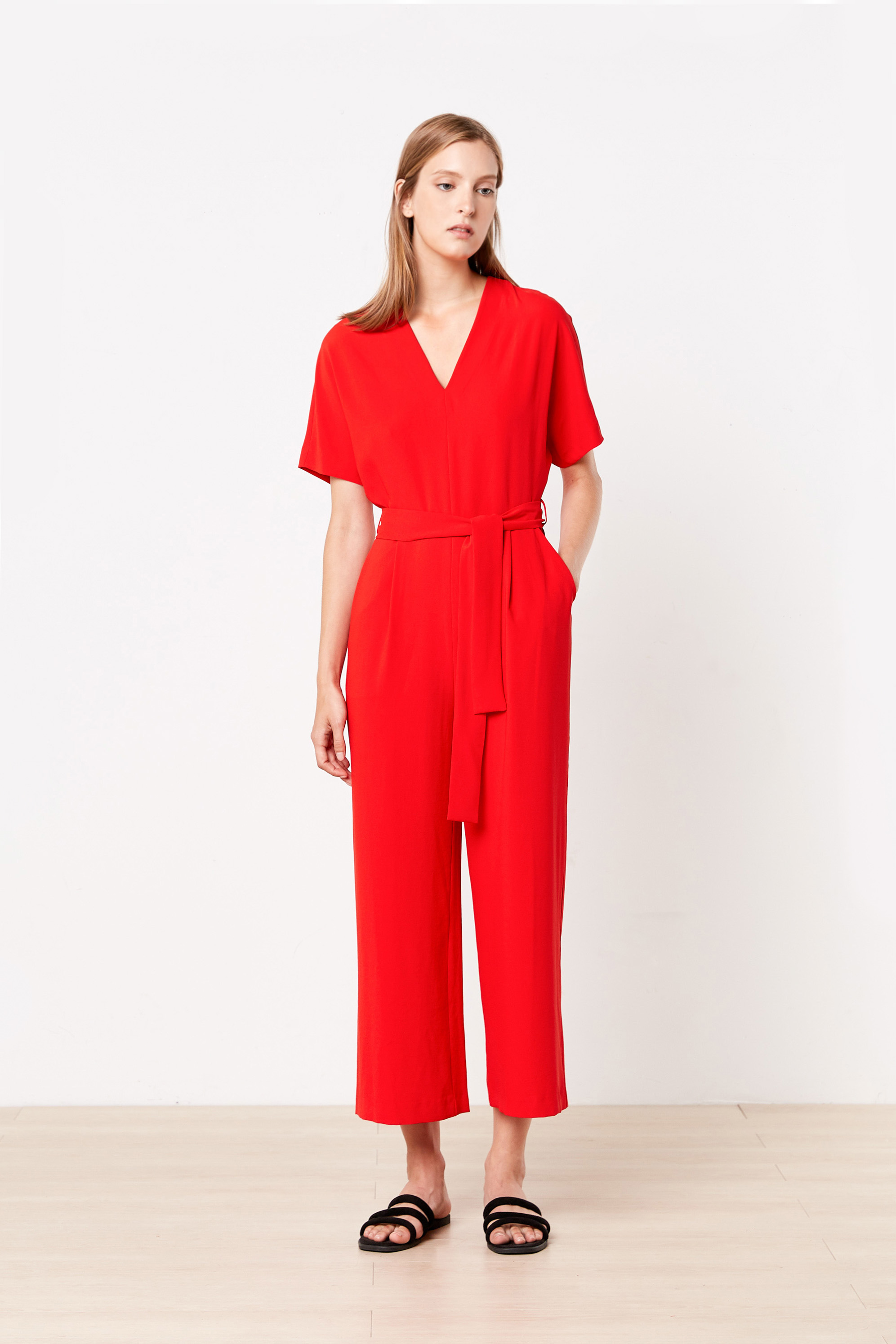 Jumpsuit 2398 Red 4