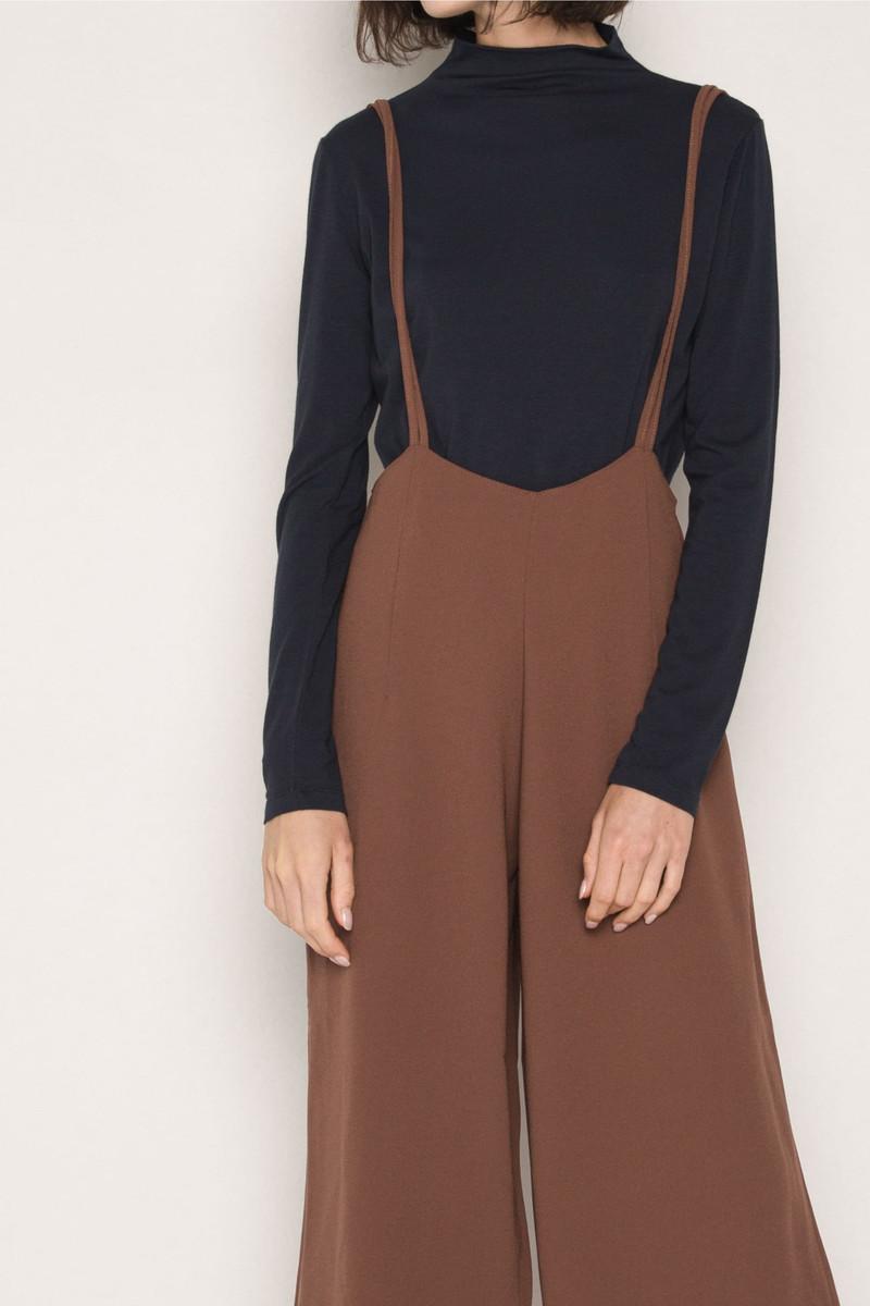 Jumpsuit H081 Brown 3