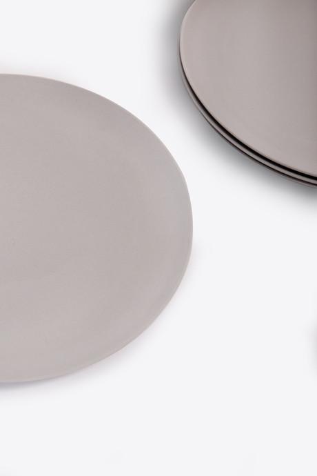Large Bamboo Plate Set 2861 Gray 4