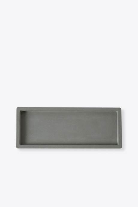Large Cement Tray 3124 Dark Gray 2
