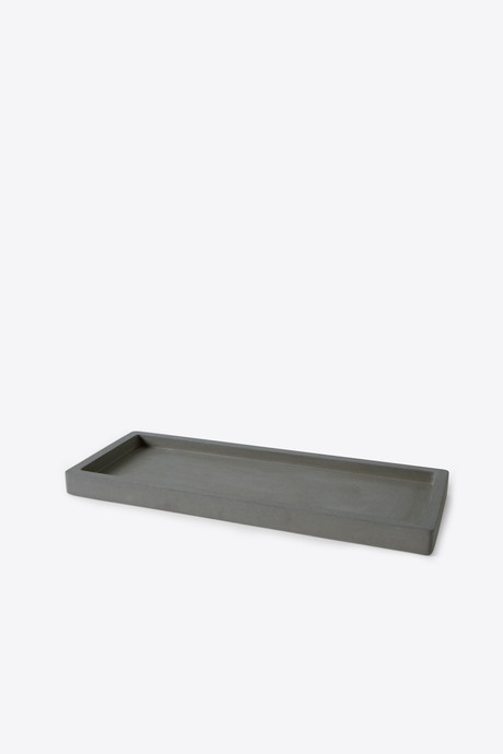 Large Cement Tray 3124 Dark Gray 3