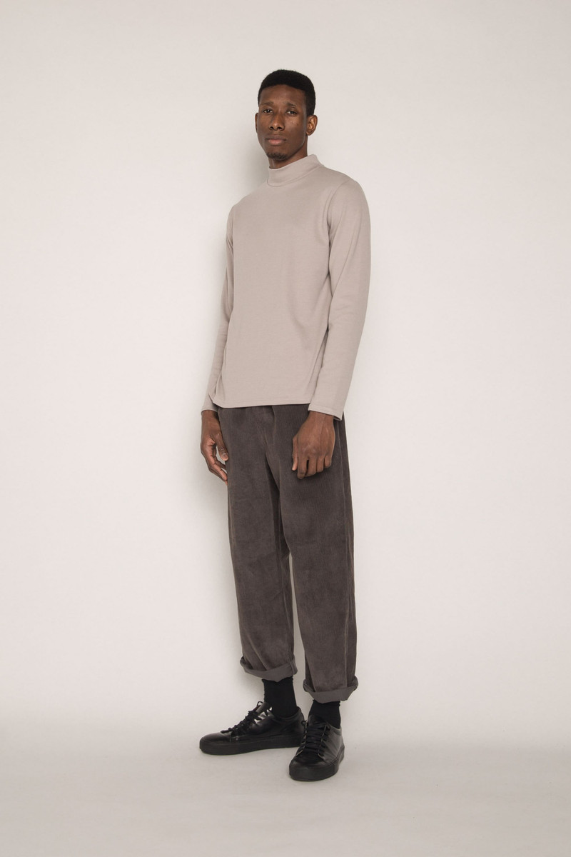 Long Sleeve TShirt H091 Beige 1