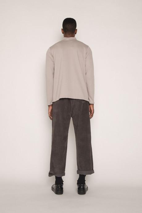 Long Sleeve TShirt H091 Beige 4