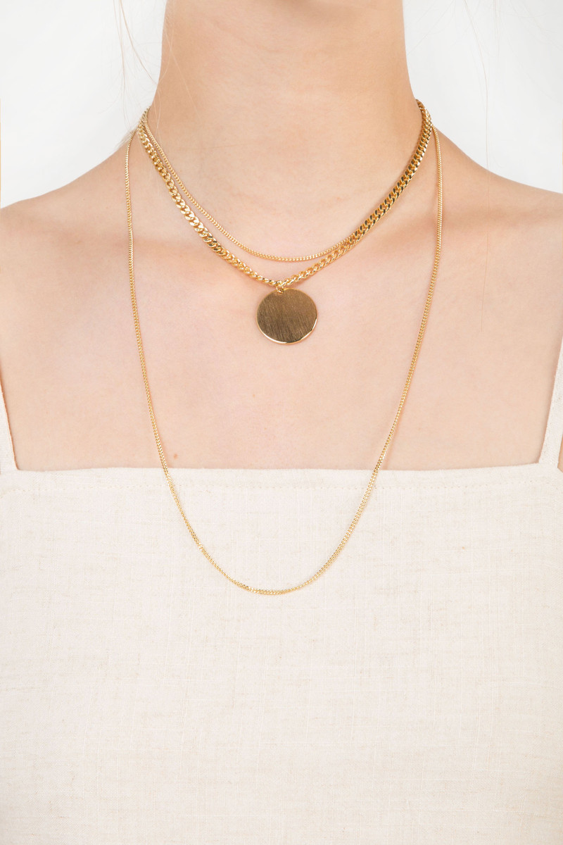 Necklace H054 Gold 1