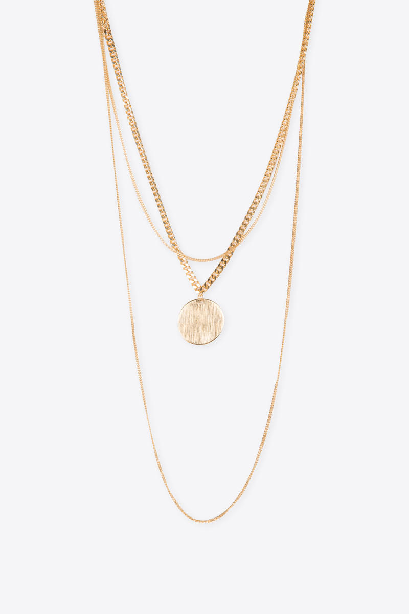 Necklace H054 Gold 2