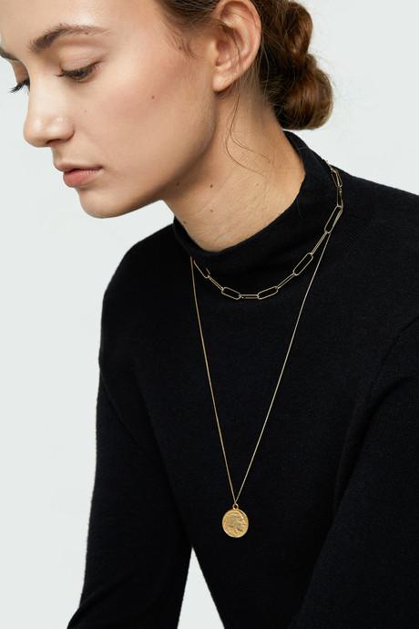 Necklace J006 Gold 1