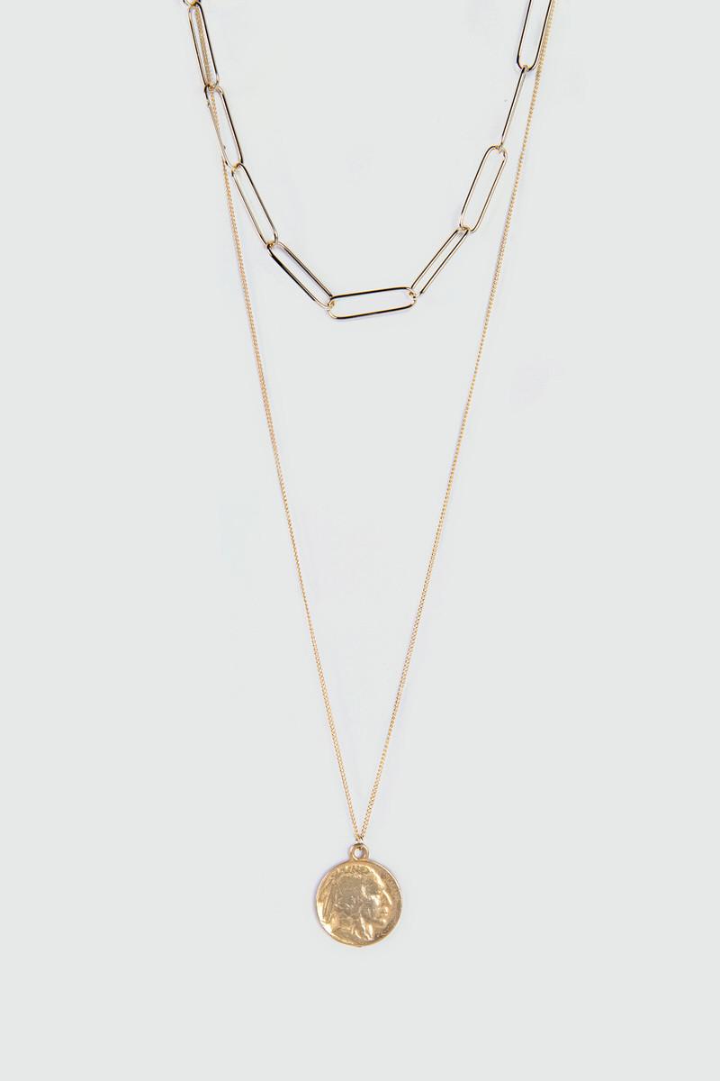 Necklace J006 Gold 2