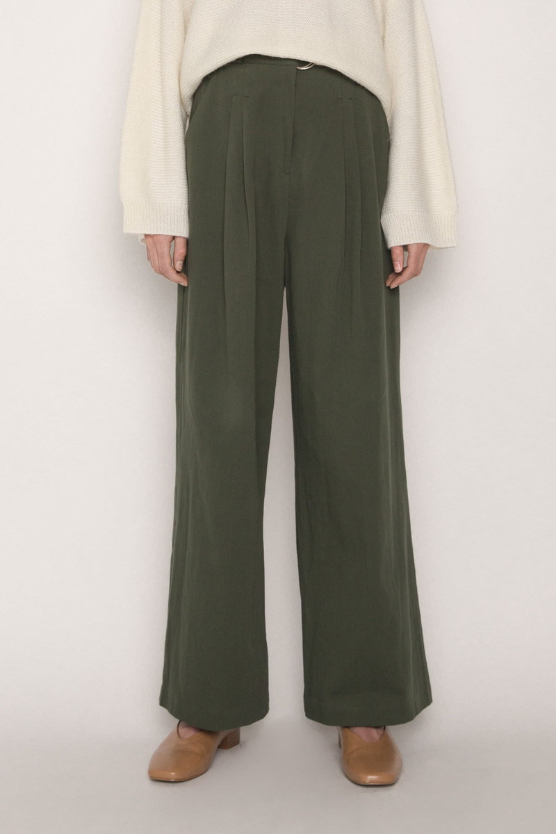Pant H232 Olive 2