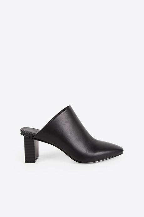 Pointed Mule 1257 Black 1