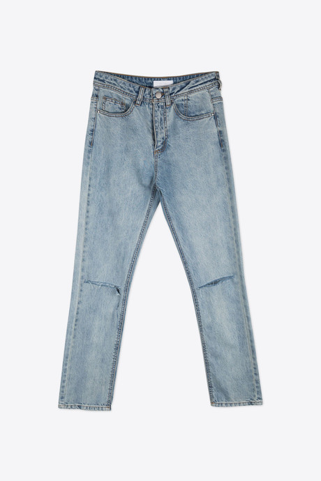Ripped Jean 2296 Light Indigo 7