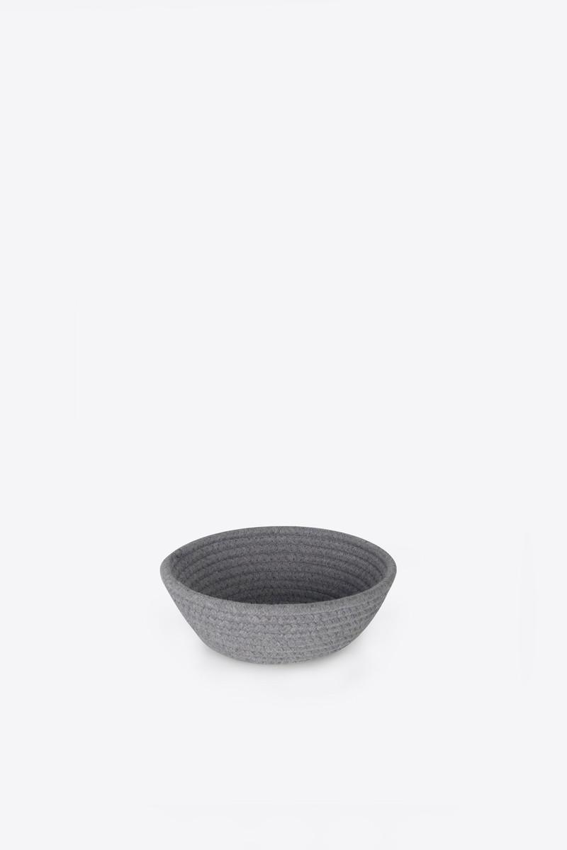 Rope Bowl 1017 Gray 4