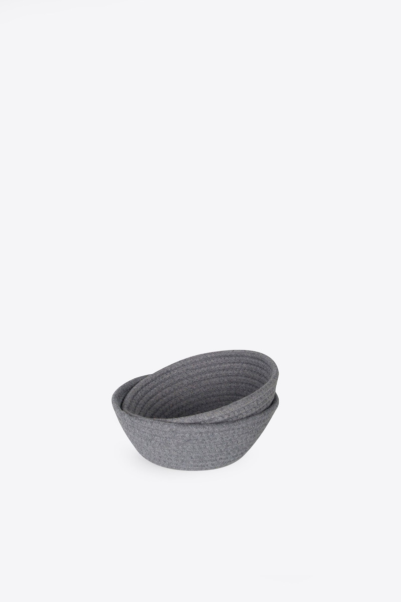 Rope Bowl 1017 Gray 5