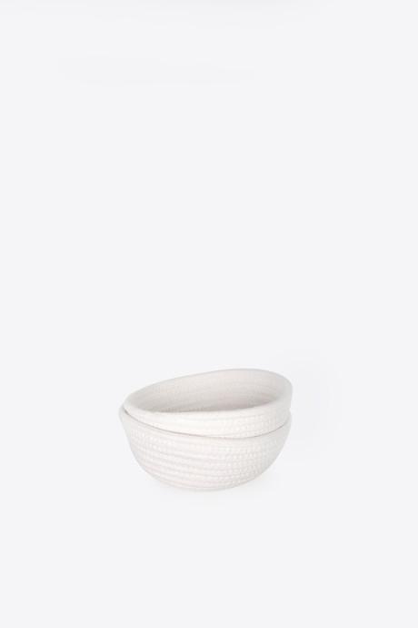 Rope Bowl 1017 White 1