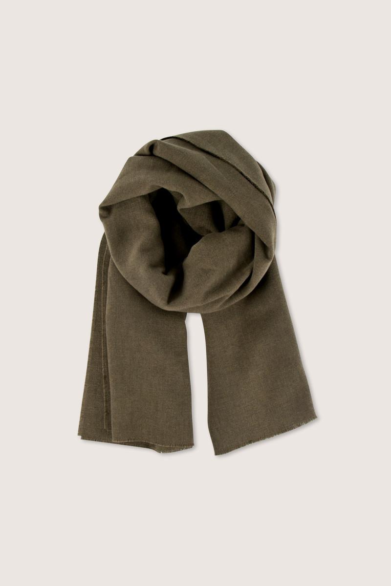 Scarf H069 Olive 1