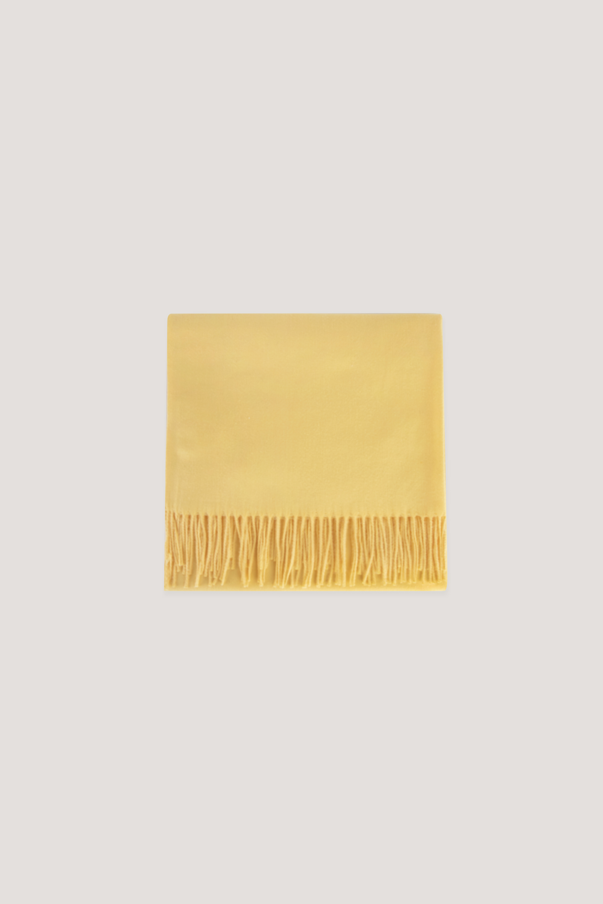 Scarf J001 Yellow 17