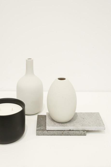 Short Oval Vase 3131