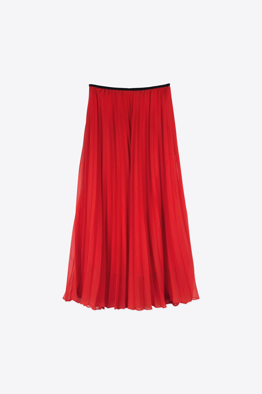 Skirt G007 Red 10
