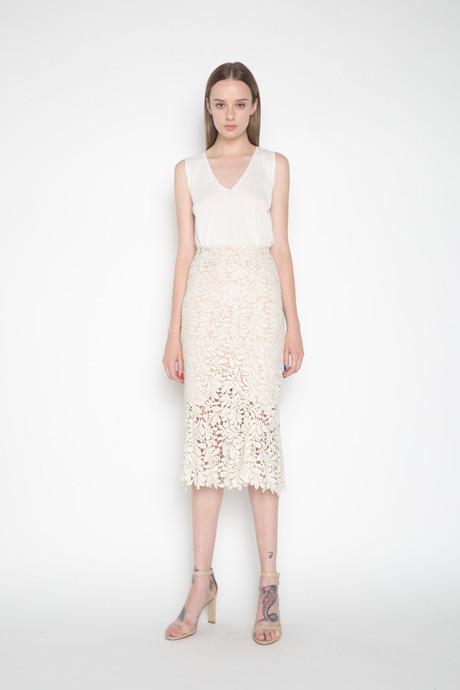 Skirt H044 Cream 1